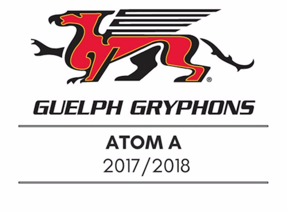 Guelph Jr Gryphons Atom A Hockey Team