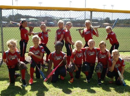 softball fundraising - Creeks Crushers 8U World Series