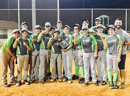 baseball fundraising - The HITMEN