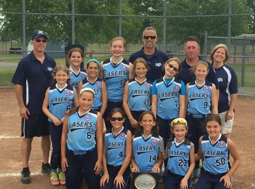 softball fundraising - Long Valley Lasers 10U