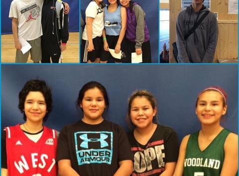 NAIG 2017 Basketball Teams -Sandy Bay