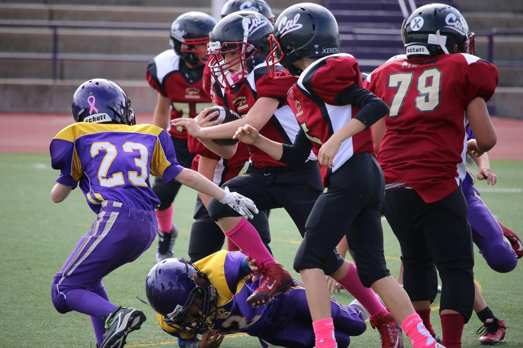 Calaveras Junior Redskins Youth Football And Cheer Program