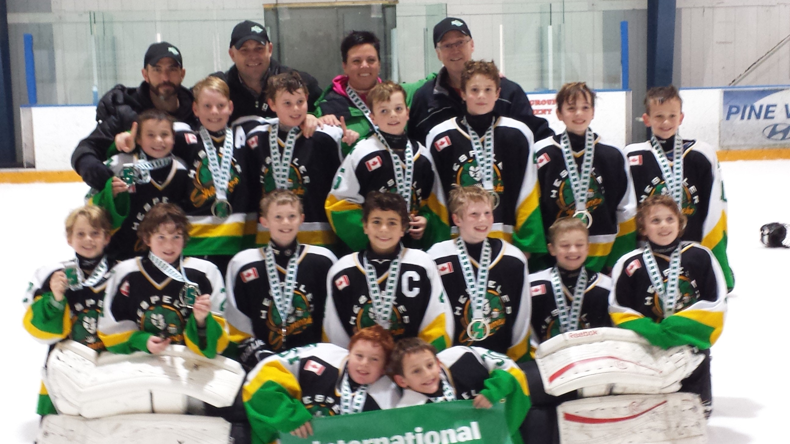 Hespeler Shamrocks Minor PeeWee A