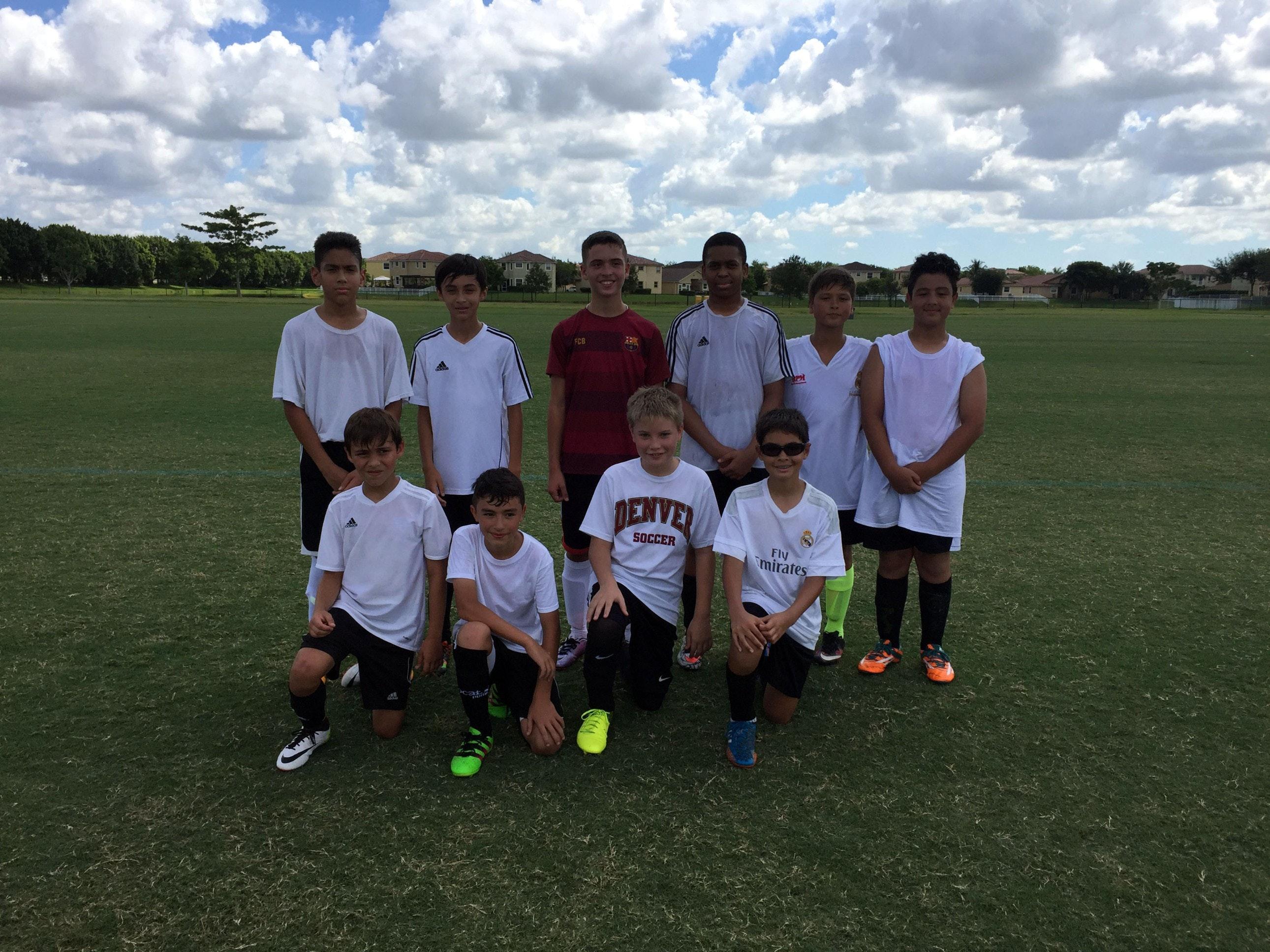 Miramar United Elite FC U13 Red Team