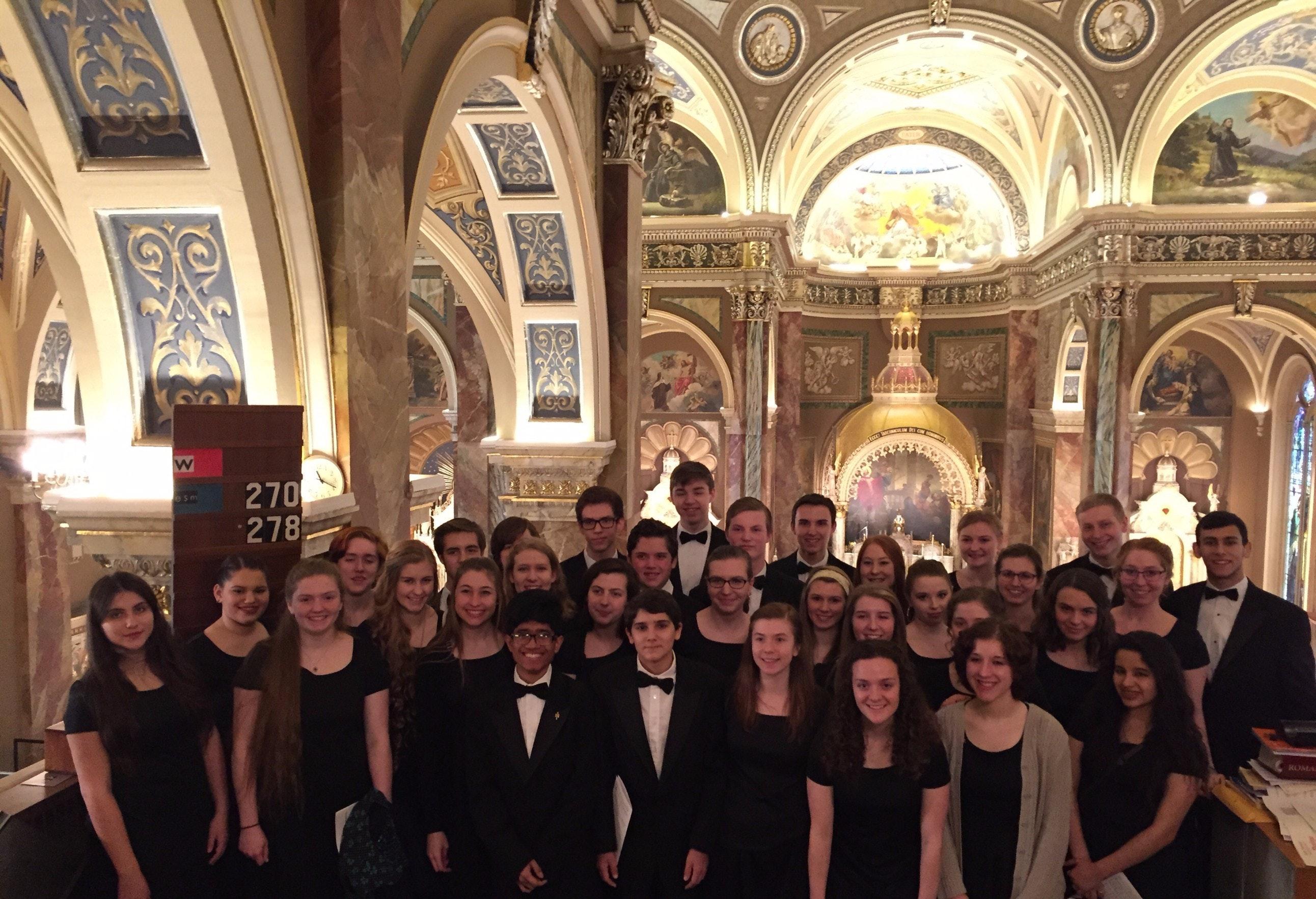 WBHS Concert Choir Toronto Tour