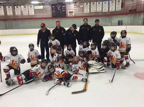 ice hockey fundraising - Leaside Novice Red Select Hockey