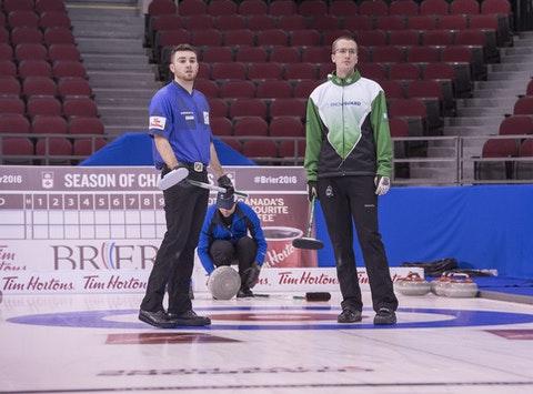 curling fundraising - Team Robillard
