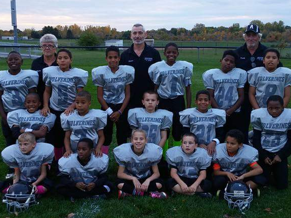 WOLVERINE YOUTH FOOTBALL & CHEER