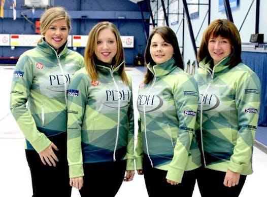 curling fundraising - Team Breen