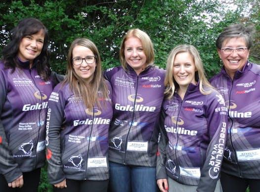 curling fundraising - Team Arsenault