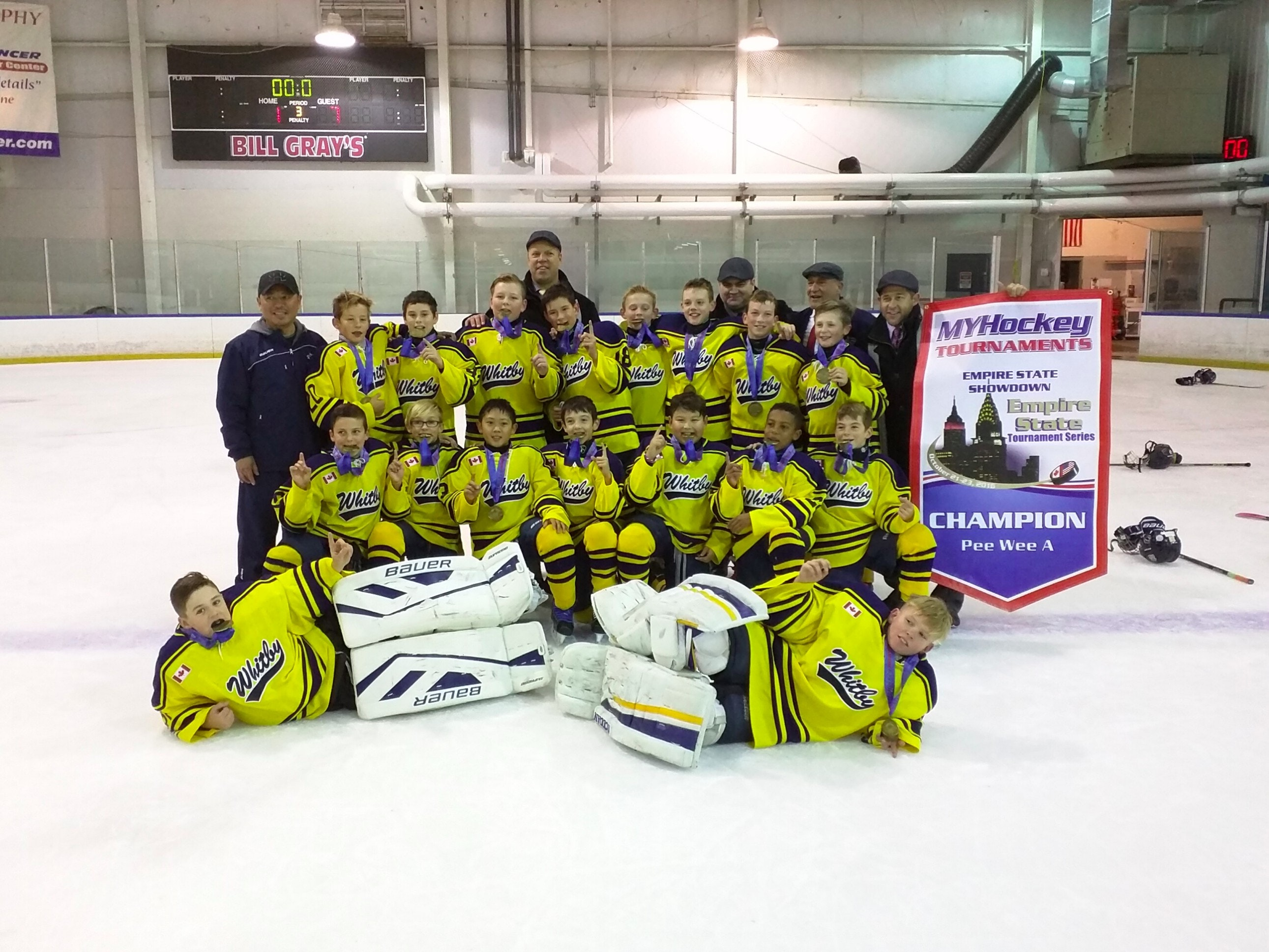 Whitby Wildcats - Minor PeeWee - A White