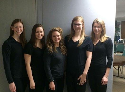 curling fundraising - Team Holloway
