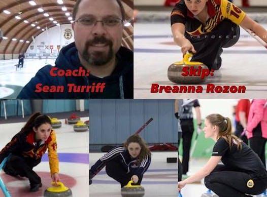 curling fundraising - Team Rozon - U21 Womens Curling