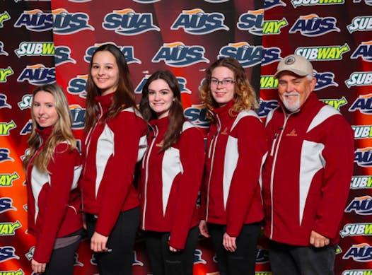 curling fundraising - Mount Allison Women's Curling