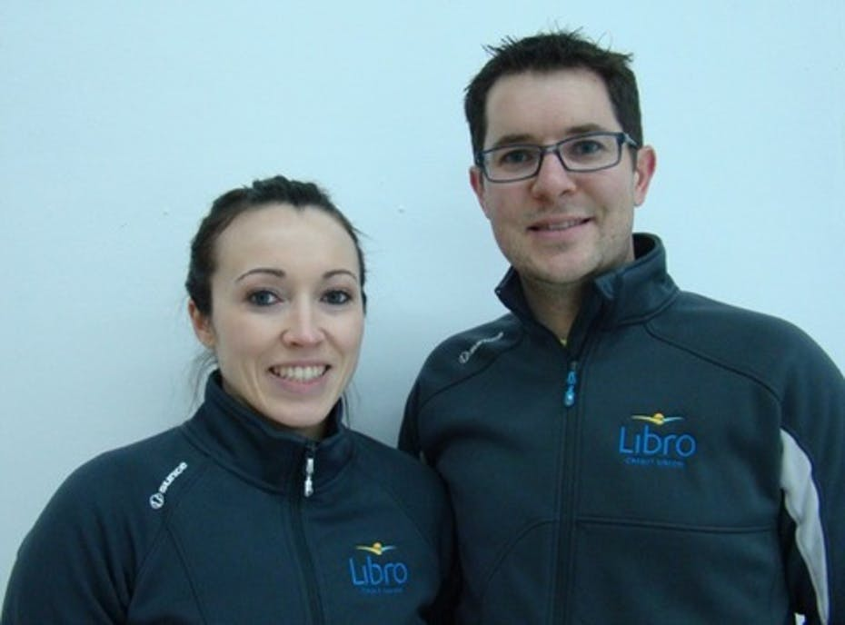 Team Cottrill:  Mixed Doubles Curling Team