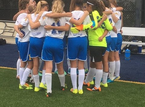 soccer fundraising - Dynamos 04 Girls Gold