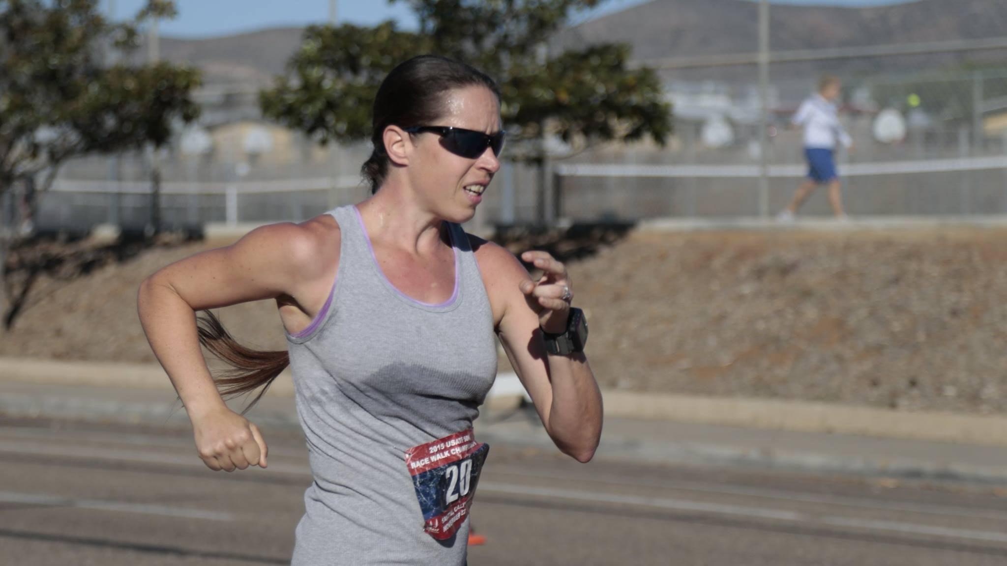 Erin Taylor-Talcott US Race Walker