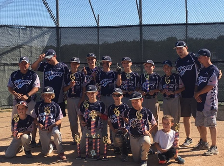 12U South Jersey Sandsharks baseball
