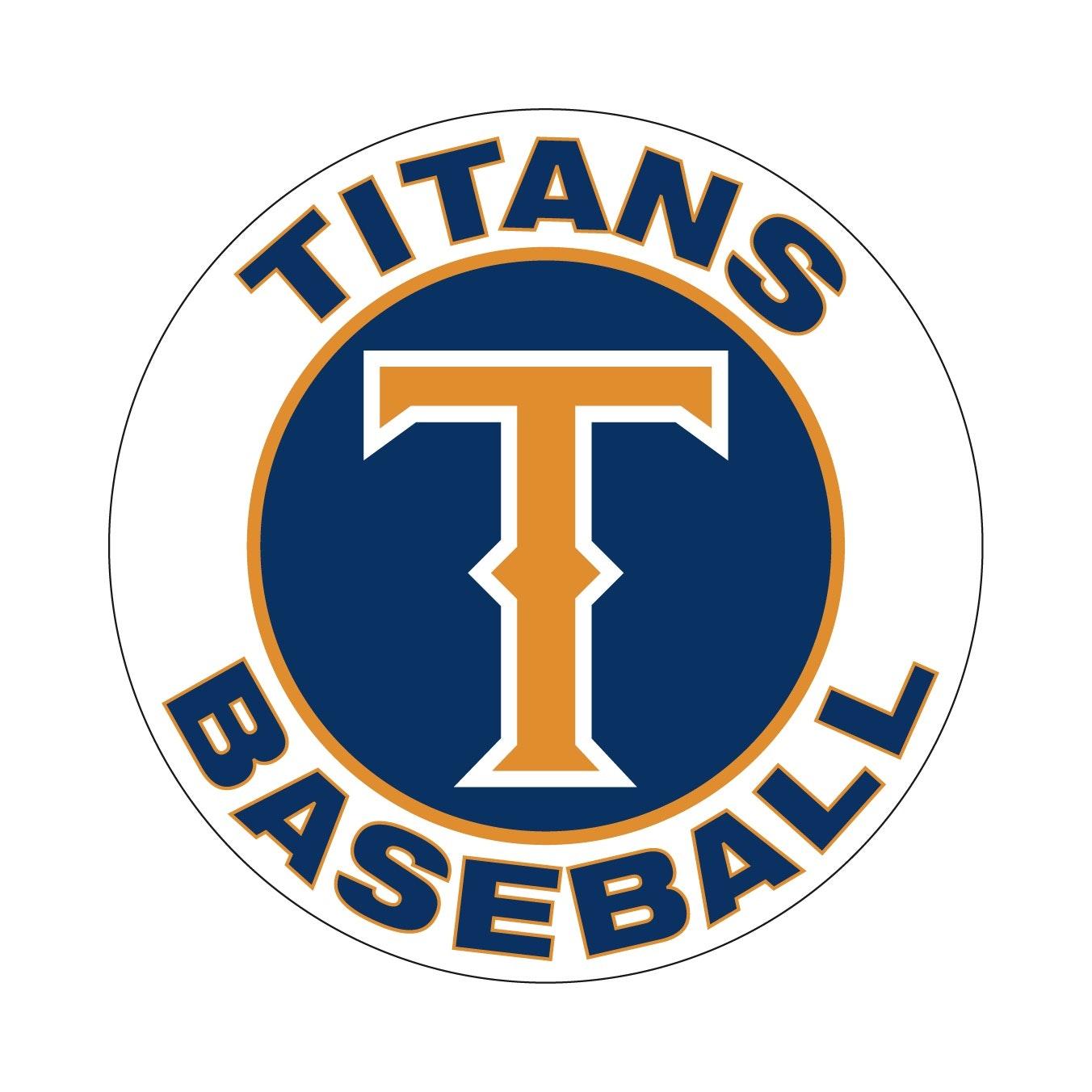 Titans White 13u baseball