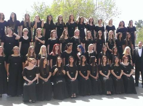 choir fundraising - The Coronado High School Choir-Gabrielle Rivera