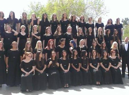 choir fundraising - The Coronado High School Choir-Gabrielle Rivera