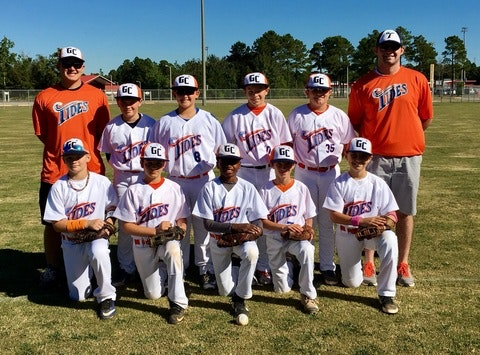 Gulf Coast Tides Baseball 12U Blue