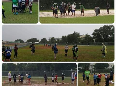 Pensacola Hype 8U Football