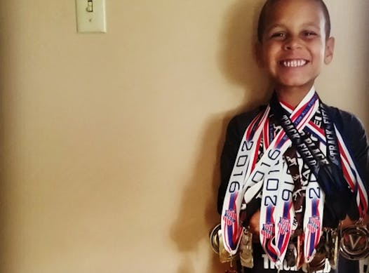track and field fundraising - Jace