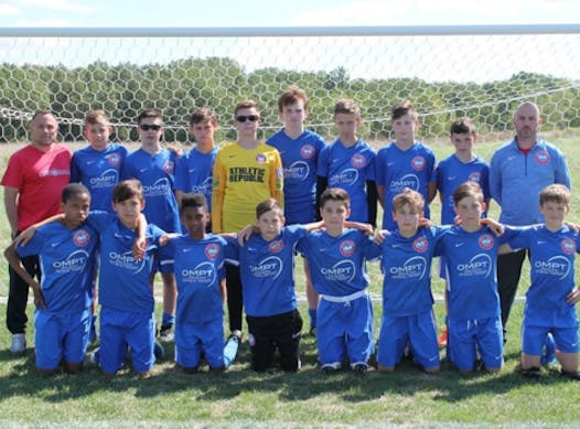 soccer fundraising - Nationals Macomb Select 06 Boys Black