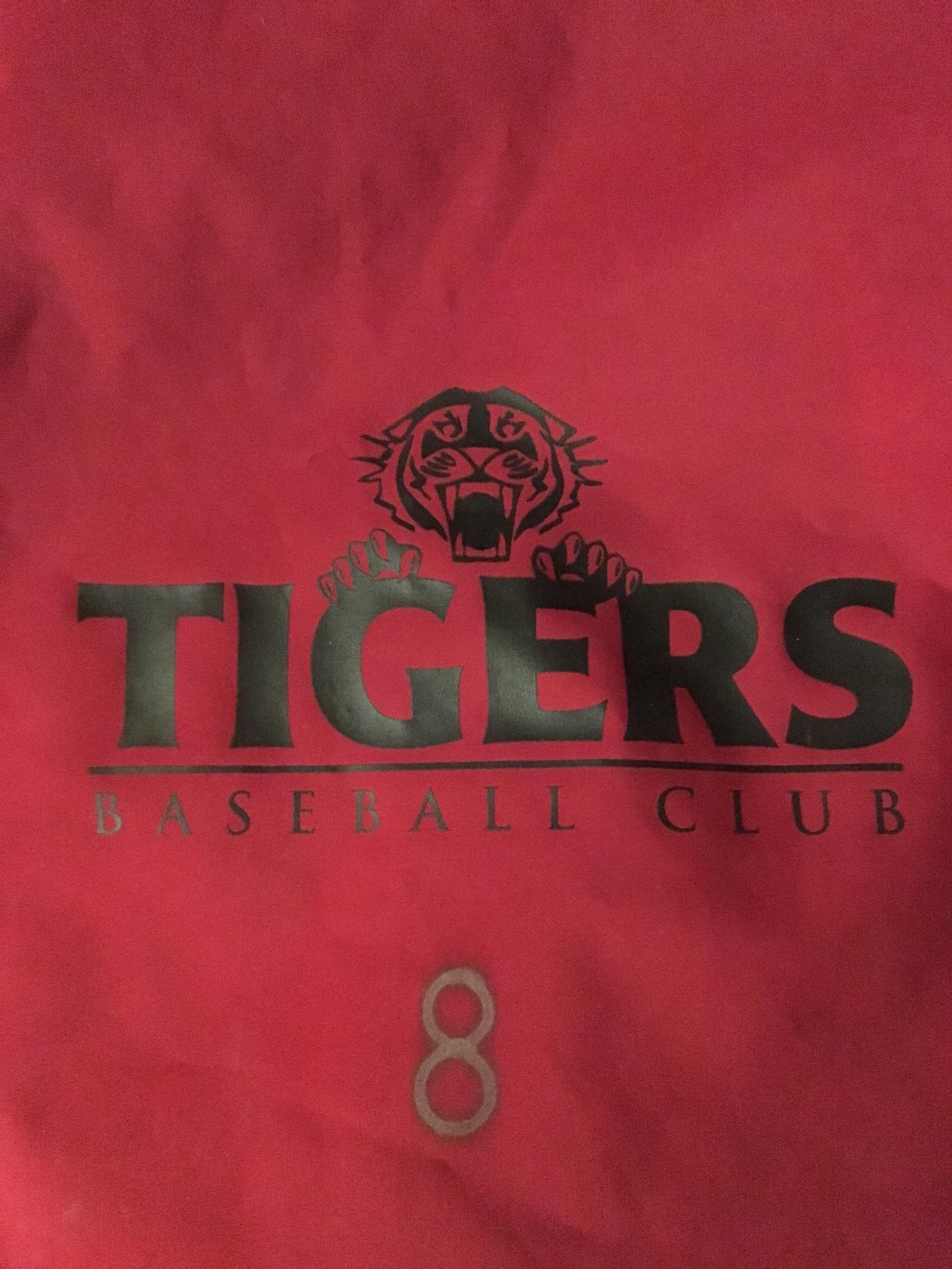Tigers Baseball Club 13u Black