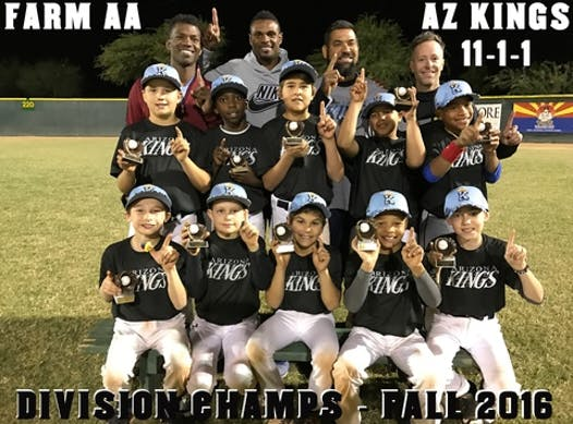 baseball fundraising - Arizona Kings Baseball