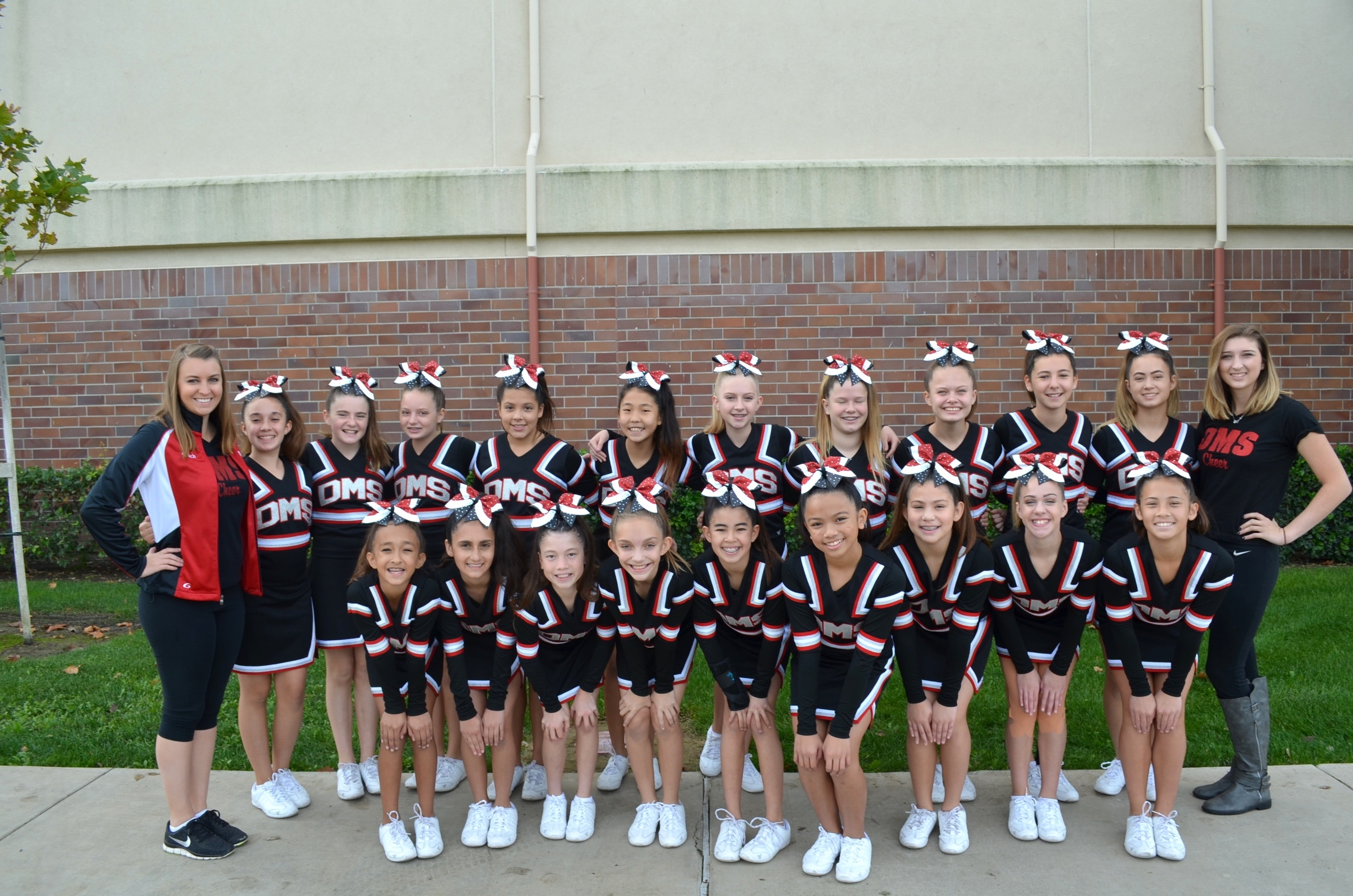Dartmouth Middle School Cheer