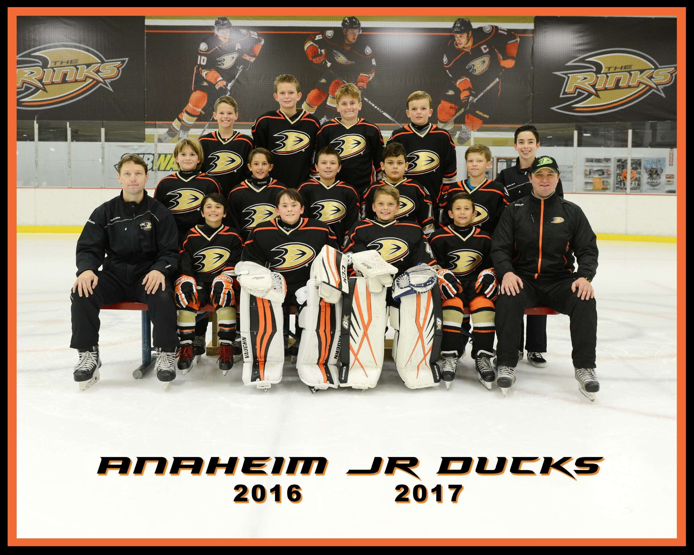 2016/17 Anaheim Jr Ducks 10U - Squirt A