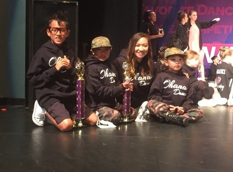Ohana Dance Competition Team