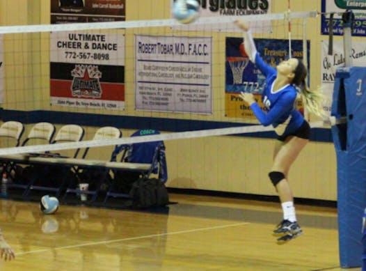 volleyball fundraising - Olivia Dodd