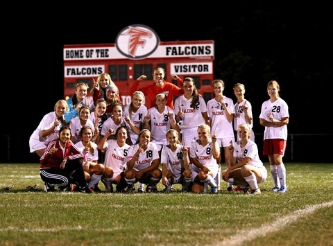 Field High School Lady Falcons Soccer Reverse Raffle