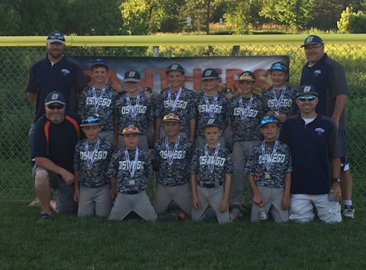 baseball fundraising - Oswego Panthers 11u Baseball