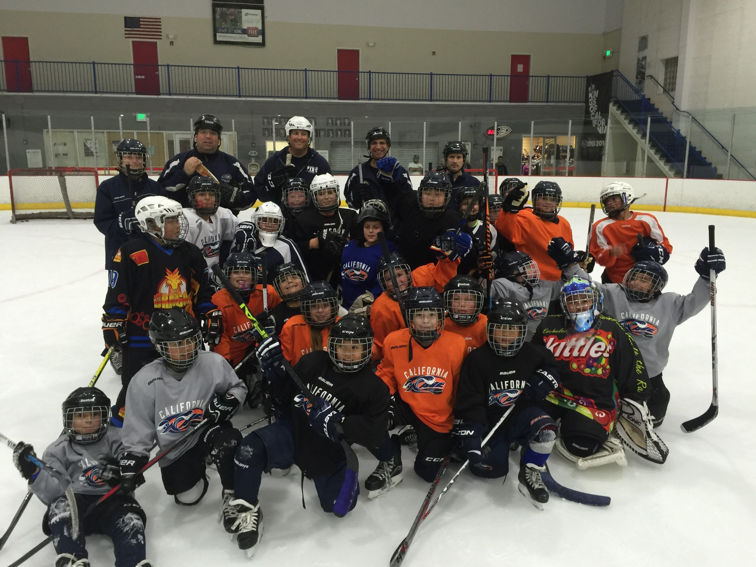 California Wave (Ontario) Squirt B Team