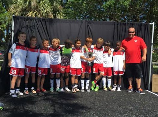soccer fundraising - Boynton Beach Knights U12 Boys Black