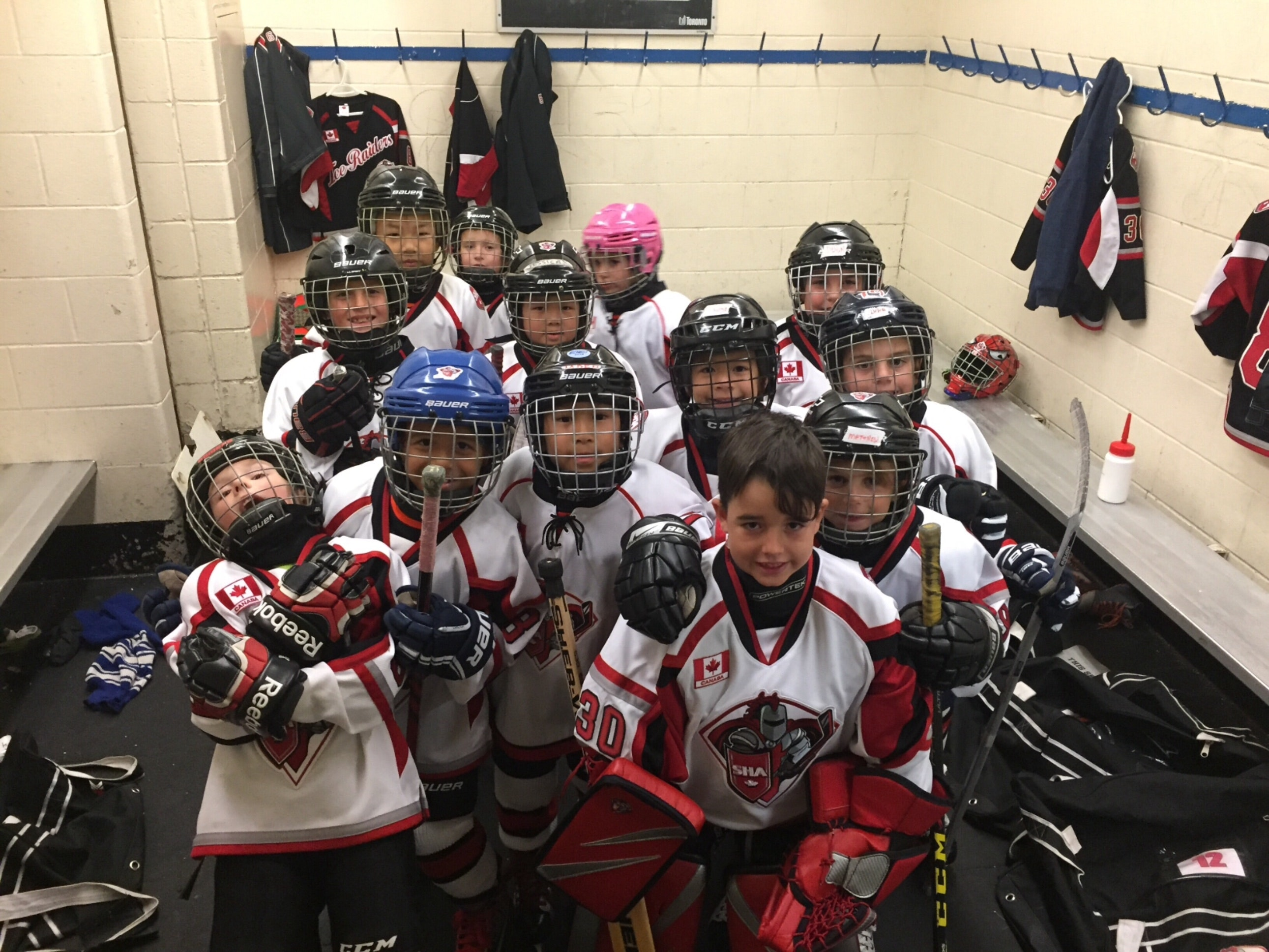 Scarborough Ice Raiders Minor Novice Black