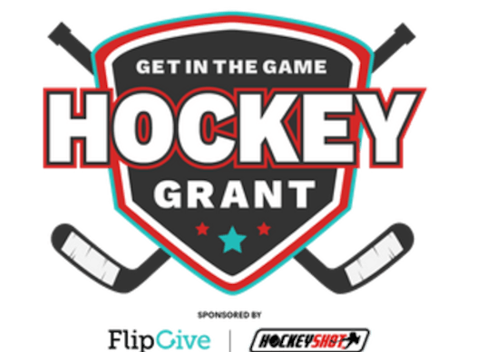 ice hockey fundraising - 2019 Get in the Game Hockey Grant