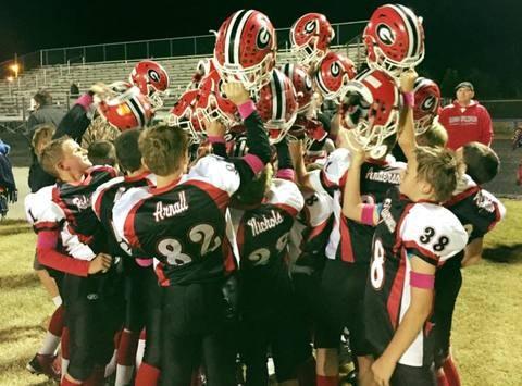 football fundraising - NDCAA Ridgerunner Youth Football