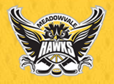 ice hockey fundraising - Meadowvale Hawks Minor PeeWee - RED