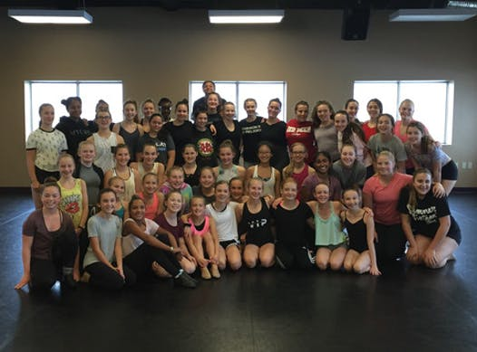 dance fundraising - EDF Company Dance Teams