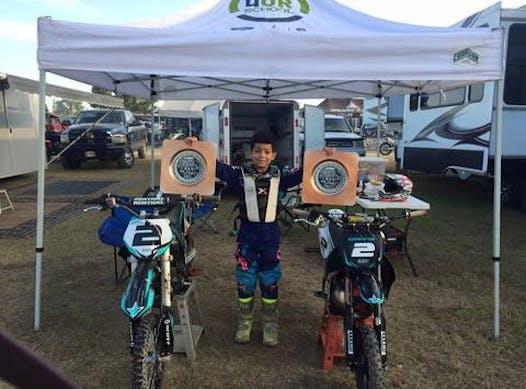 motocross fundraising - Landon Davis