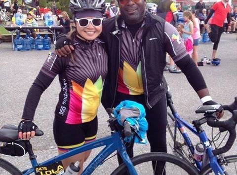 charity event - run, walk, or bike fundraising - TEAM MILLER TIME - RIDE TO CONQUER CANCER