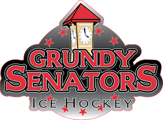 ice hockey fundraising - Grundy Senators Midget 16 U Black