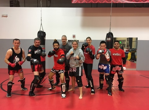 martial arts fundraising - Sparta Muay Thai