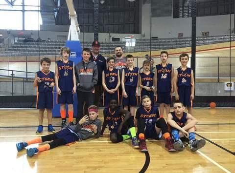 basketball fundraising - Stoney Creek Storm Bantam Boys