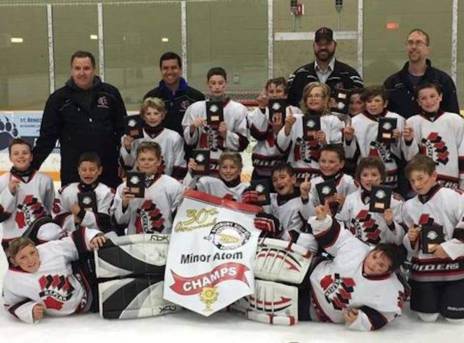 Nepean Raiders Minor Atom B Black